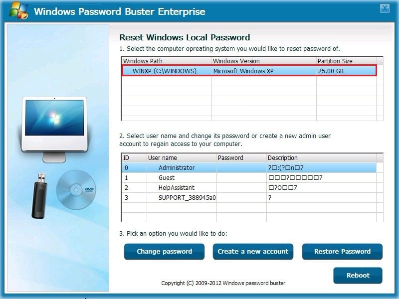 Windows Password Buster Review