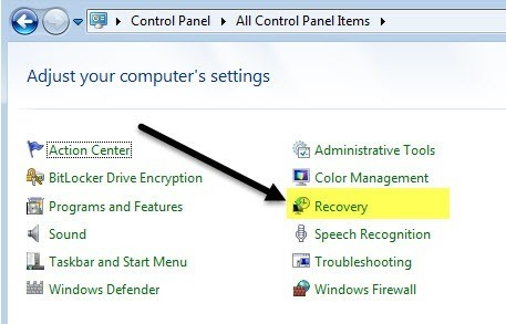 factory reset to get Dell password reset without disk
