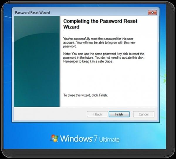 complete reset password