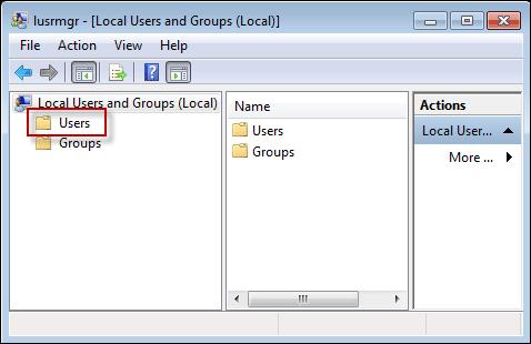 lusrmgr.msc users