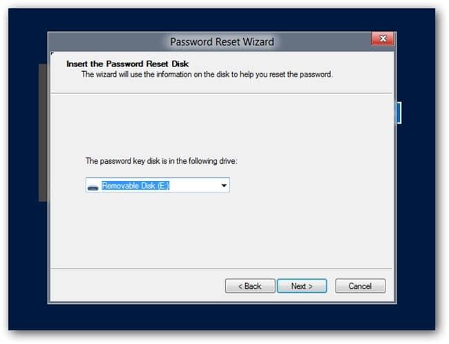 password disk