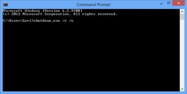 reset password with command prompt