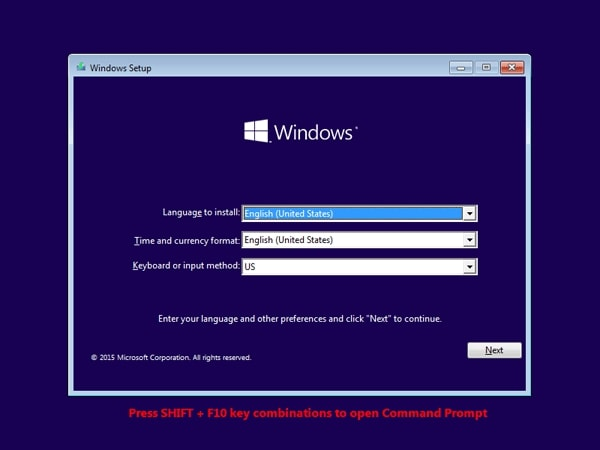 windows 8.1 setup