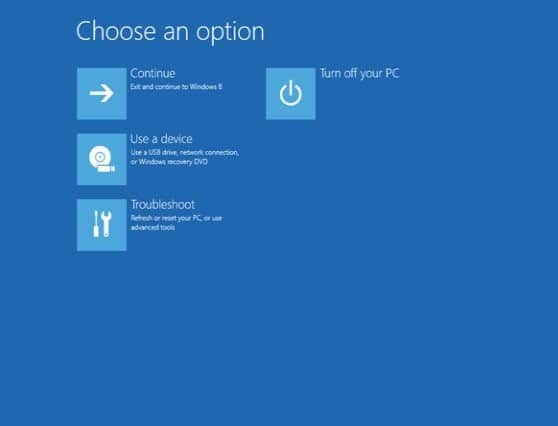 troubleshoot in windows 10 auswählen