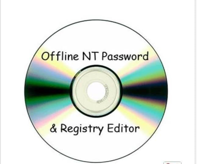 offline nt password registry editor para hackear la contraseña de Windows