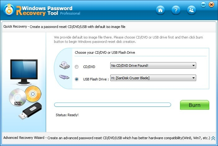 Top 2 Windows 10 Password Reset Tool - Windows password recovery tool