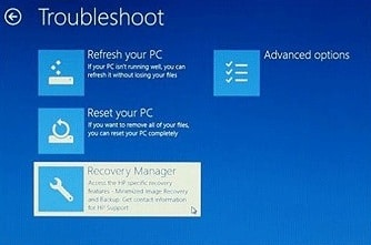 how do i get my hp recovery manager - Microsoft Community