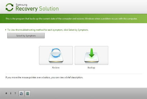 restore samsung from recovery solution