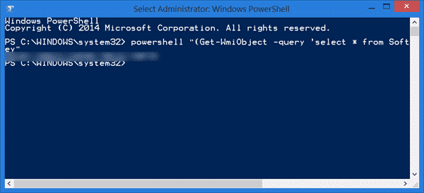 find windows 10/8/8.1 product key using power shell