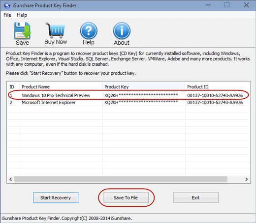 how to find license key for sql server 2008