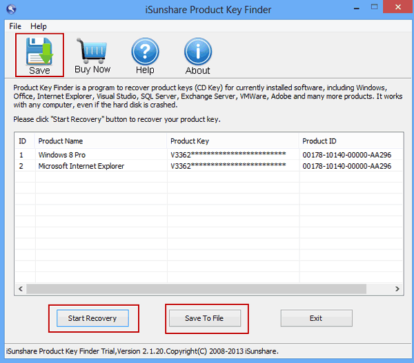 windows 8 product key finder