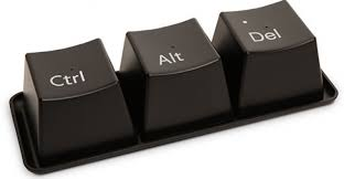 press ctrl alt delete keys