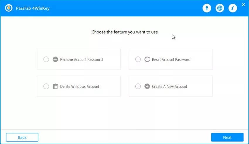 Passfab 4WinKey Windows Password Recovery